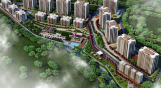 BIG 126 Comfortable apartments for sale in a great green area in Beylikduzu Istanbul