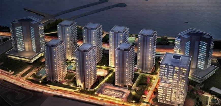 BIG 129 Magnificent sea view apartments in Istanbul Bakirkoy