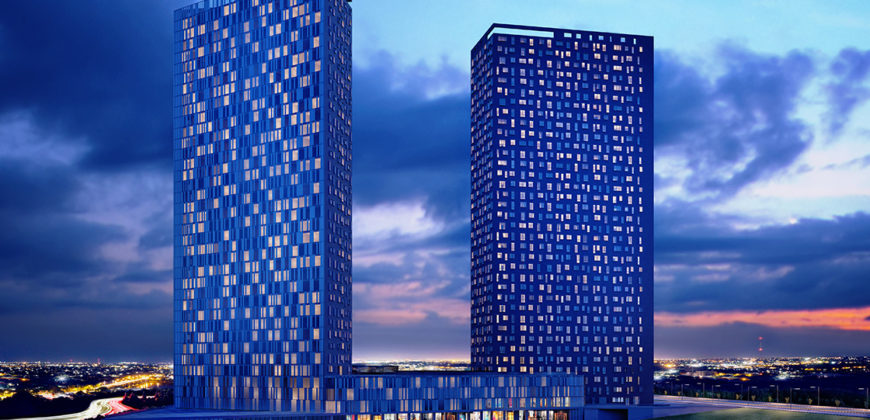 BIG 103 Luxury residences for sale near the shopping center in Istanbul