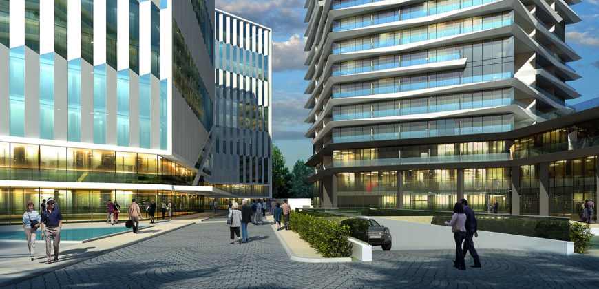 BIG 106 Elegant real estate in front of E-5 in Istanbul Kucukcekmece