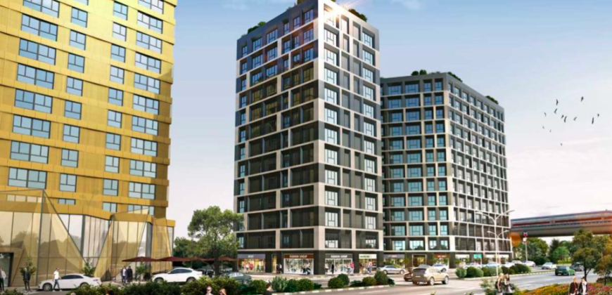 BIG 107 Private luxury apartments for sale in Istanbul Küçükçekmece