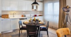 BIG 105 Family apartment for sale in Istanbul Gunesli