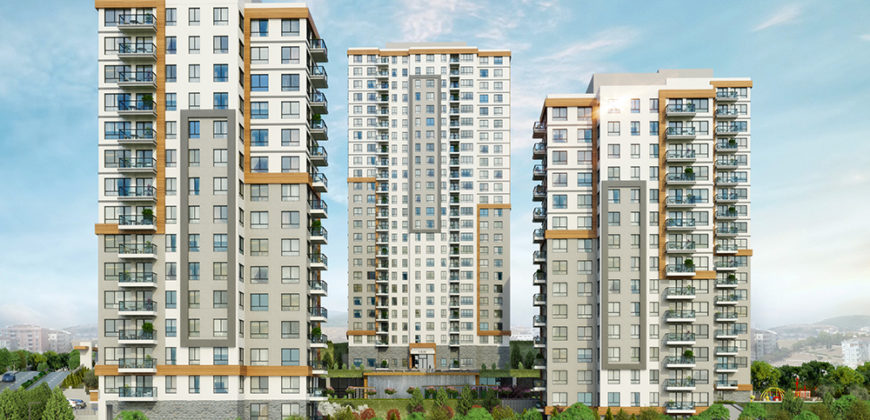 BIG 119 Luxury family apartments for sale in Istanbul Halkali