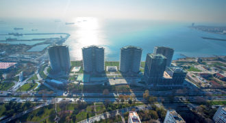 BIG 128 Luxury apartments with great sea view in Istanbul Bakirkoy