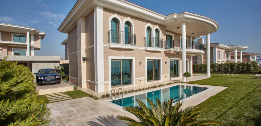 BIG 114 Luxury sea view villas with great sea view in Istanbul