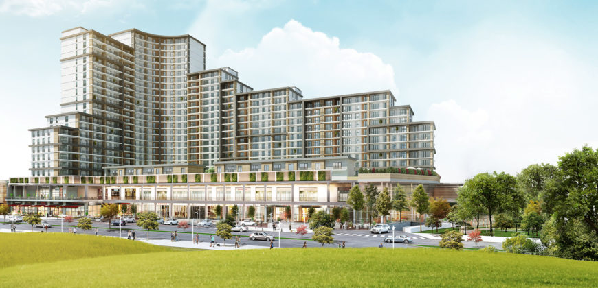 BIG 124 Istanbul apartments for sale next to a large shopping mall in the Bahçeşehir
