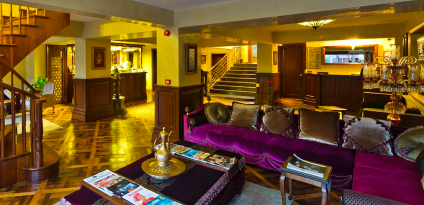 BIG 501 A magnificent design hotel in the heart of history in Sultanahmet Istanbul