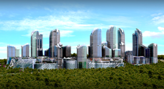 BIG 205 Luxury apartments ready for living with the magnificent forest view for sale in Istanbul