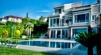 BIG 402 Ultra luxury villa for sale in Istanbul Buyukcekmece