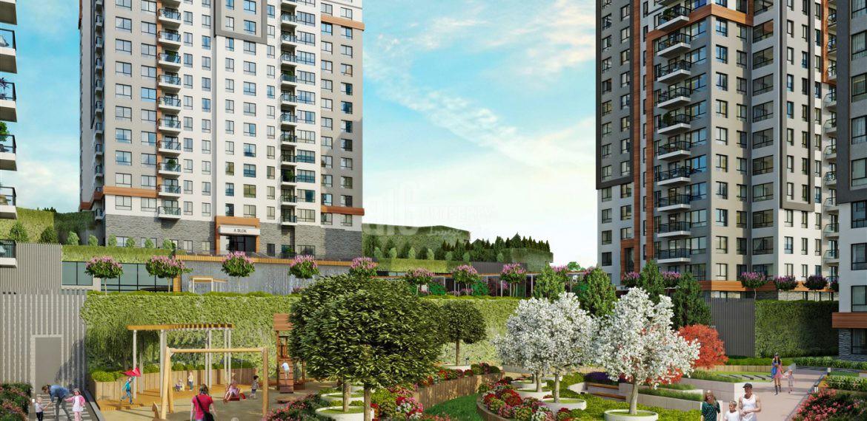 2 rooms apartmen for sale bulvar atakent istanbul propeties