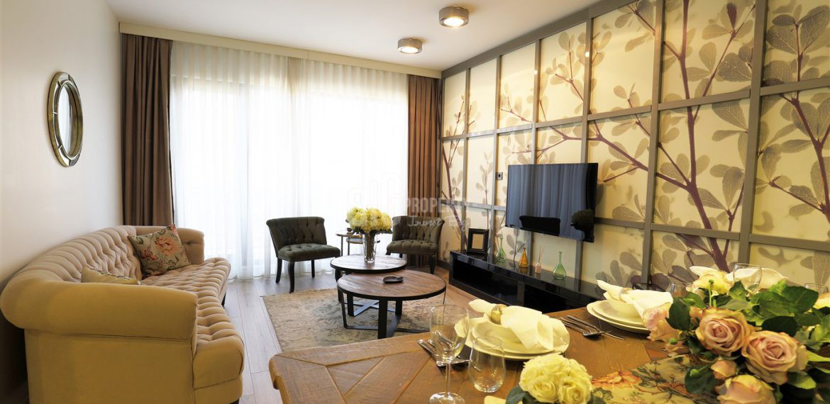 5 minute to canal istanbul flats for sale in babacan porty royal