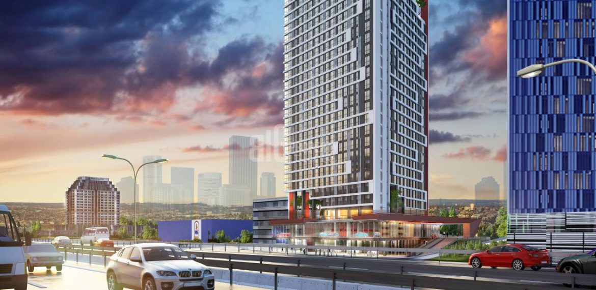 Apartments for Sale Near the Business Center in Istanbul Gunesli