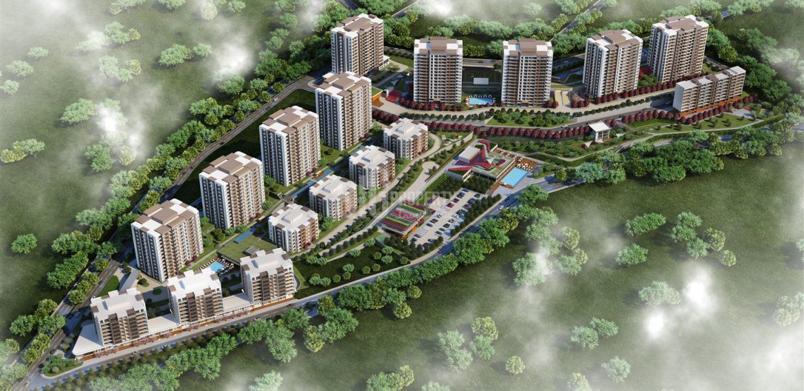 Comfortable Apartments for Sale in a Great Green Area in Beylikduzu Istanbul