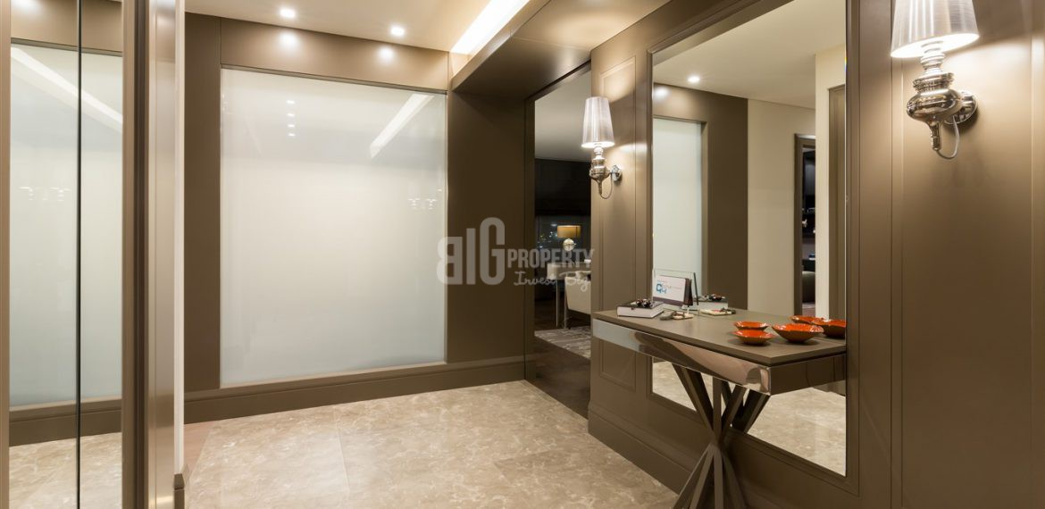 Deluxe homes for sale with wonderful sea view in Istanbul Bakirkoy