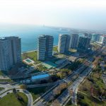 High Quality apartments for sale with wonderful sea view in Istanbul Bakirkoy