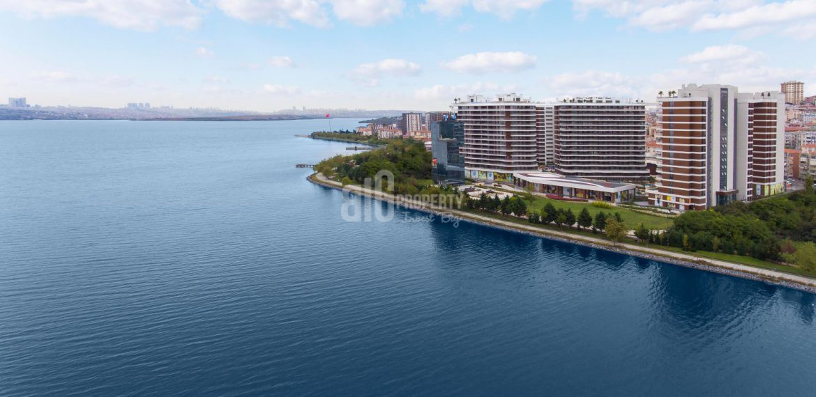 In front of canal istanbul flats for sale in istanbul kucukcekmece