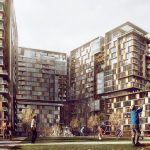 Investing apartments for living City Center of İstanbul Turkey