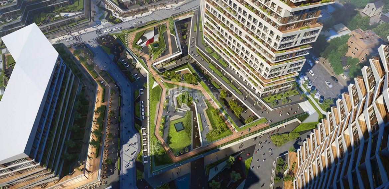 Luxury flats for sale in Nivo İstanbul Istanbul Gunesli
