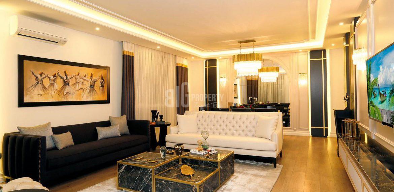 Luxury homes for sale with amazing sea view in Istanbul Beylikduzu kavakli