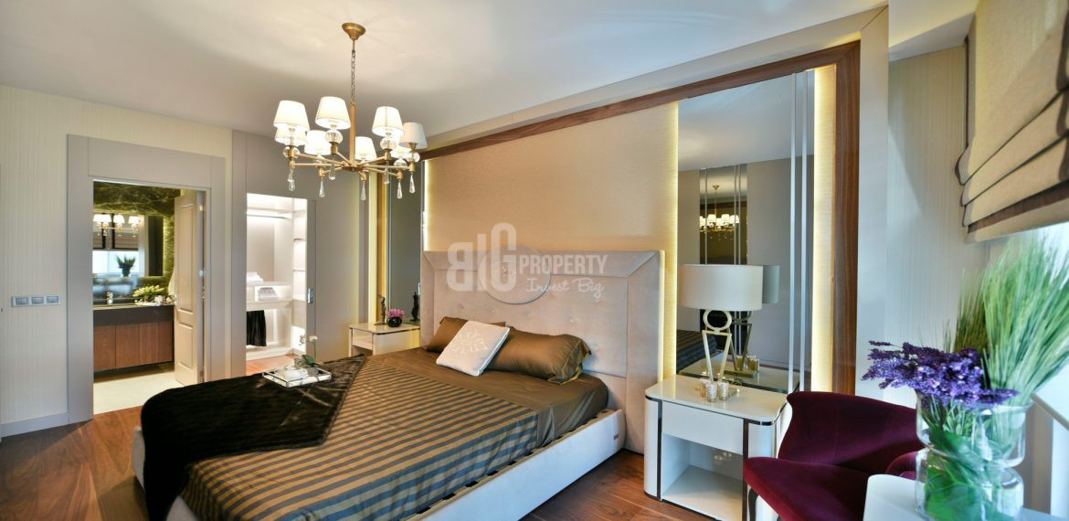 Luxury residential key ready for sale at city center with wonderful green area in Istanbul Bakirkoy