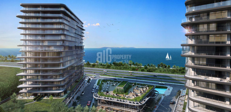 Marvelous Sea View Art Form Apartments For Sale in Zeytinburnu Istanbul
