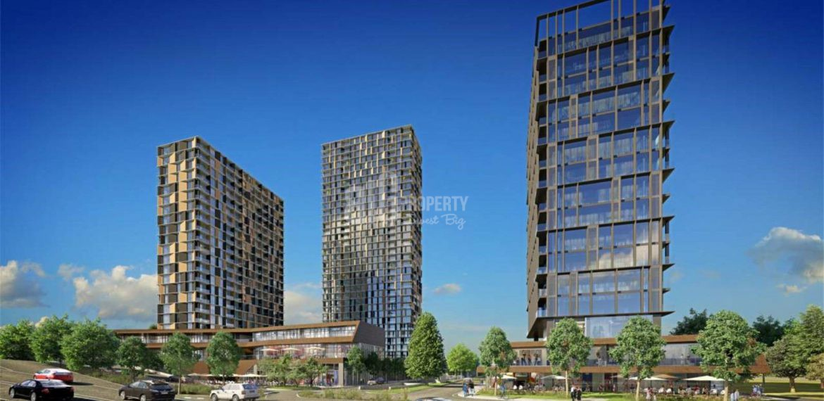New generation smart apartments for sale in Istanbul