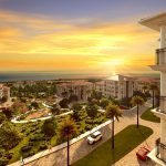 Private villas for sale with wonderful sea view and big garden in Istanbul Beylikduzu