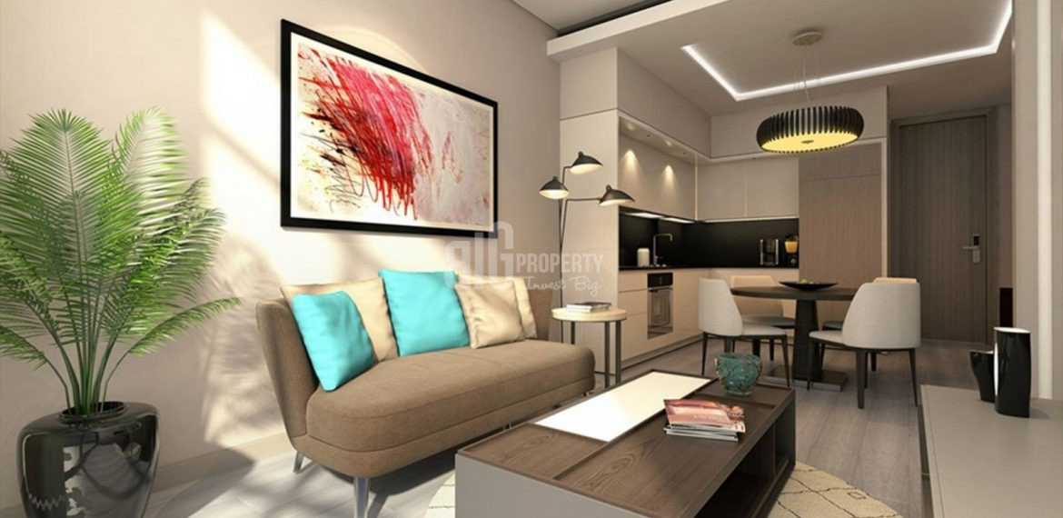 Trendly smart real estate for sale in Istanbul Gunesli
