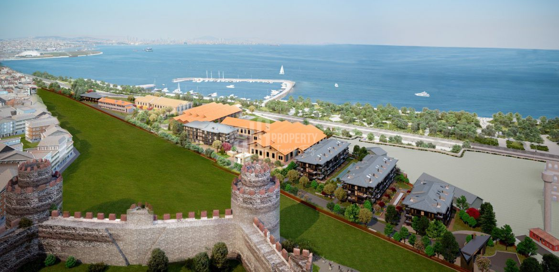 Wonderful Sea View Apartments in Istanbul Fatih