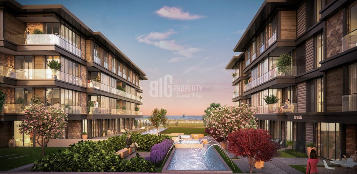 Your dream apartments for sale with amazing bosphorus view