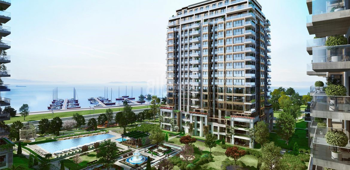 Your dream apartments for sale wonderful bosphorus and marina viev İstanbul