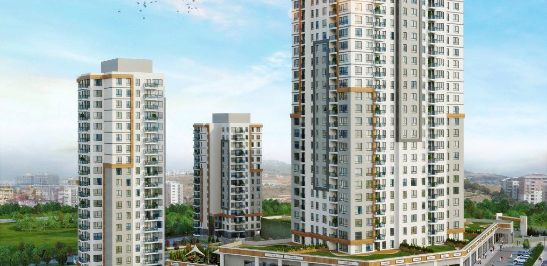 bulvar atakent apartments for sale in istanbul