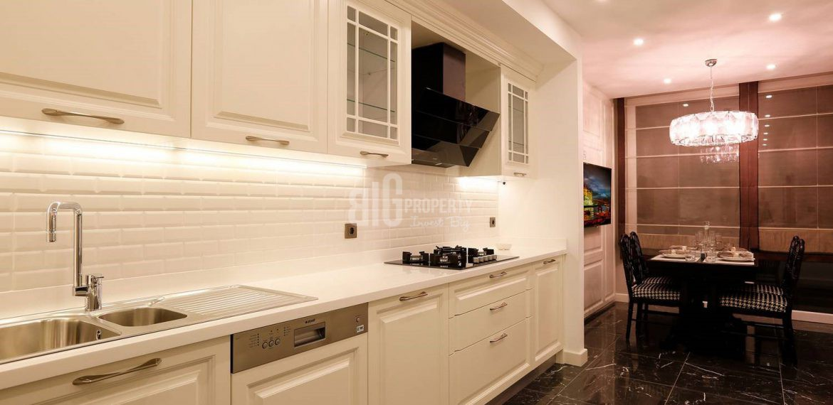 kitchen sample aparments for sale azur marmara