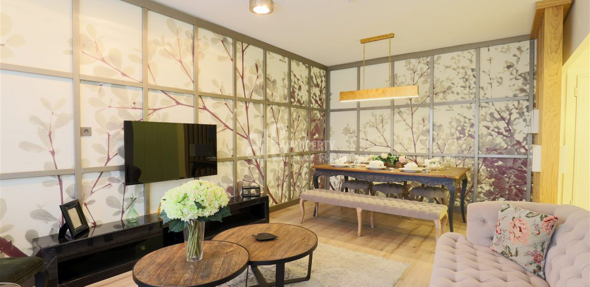 living room of sample apartment babacan – big property agency