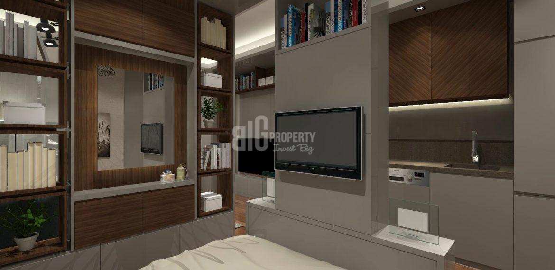 living rooom 2 badroom sample apartment gul ekspres
