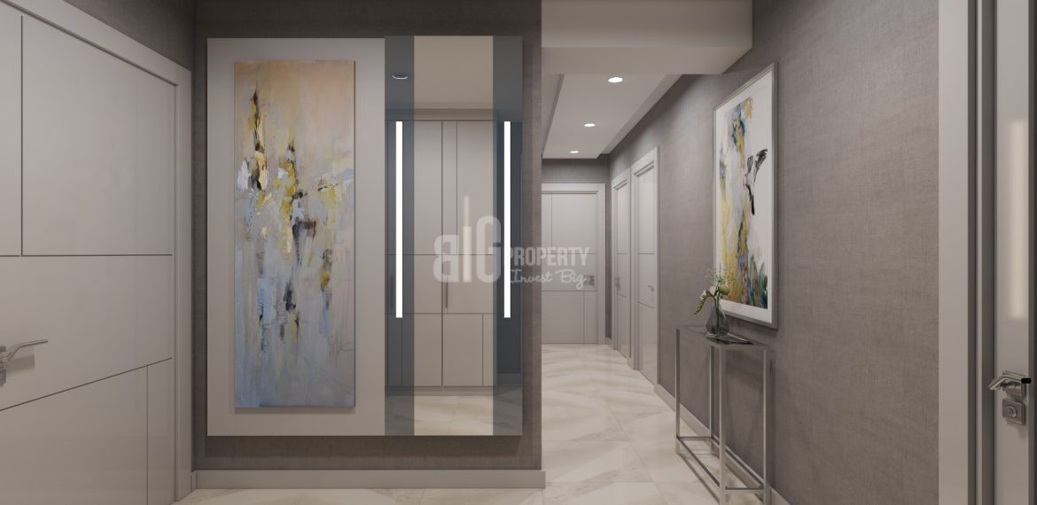 luxury family apartment for sale in Istanbul kucukcekmece