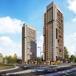 modern architecture luxury real estate for sale in Istanbul kucukcekmece