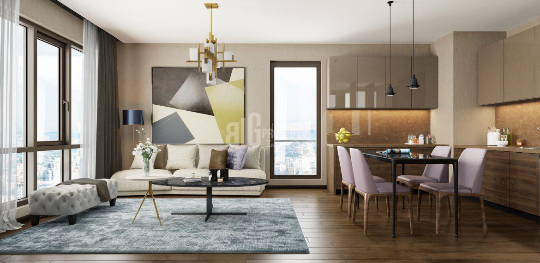 nef basin ekspres sample apartment for sale in istanbul