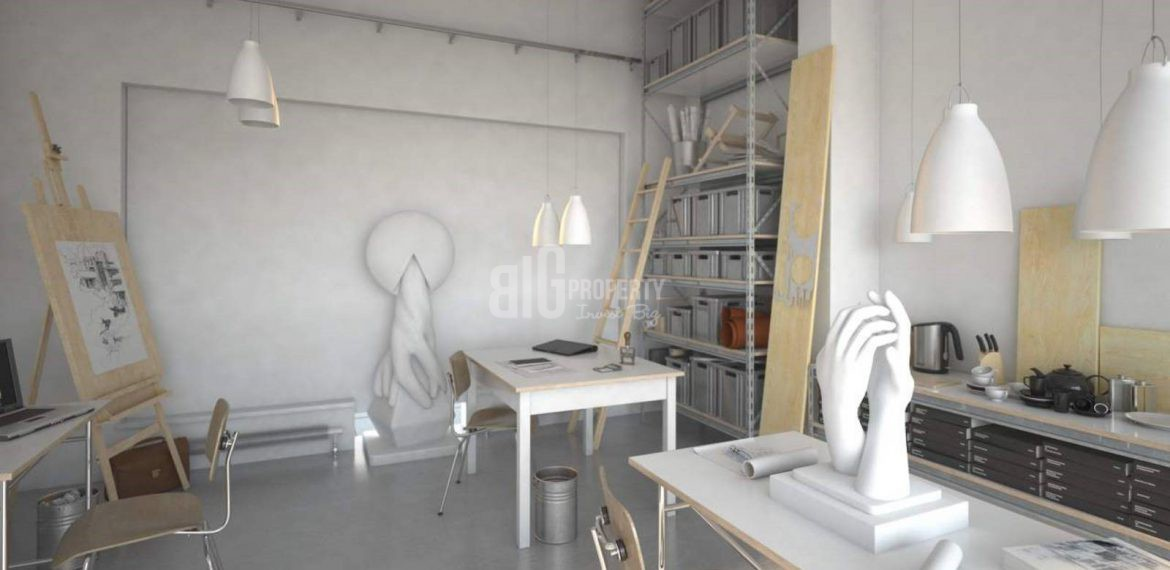 panoramic city view apartment for sale in güneşli istanbul