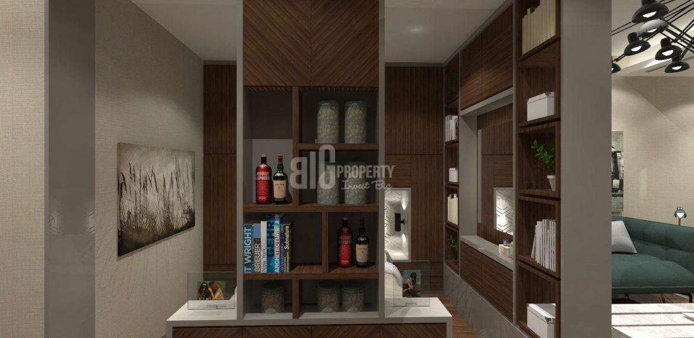 sample flat living room 1 badroom gul ekspres