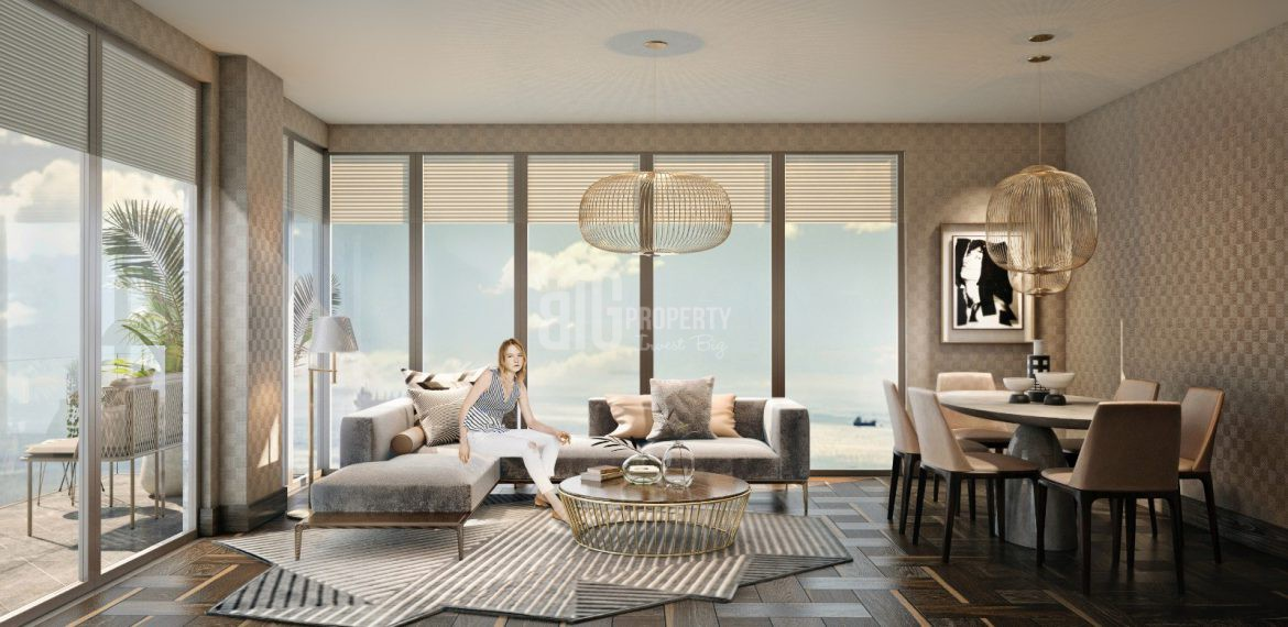 the cheapest sea view apartment cer istanbul