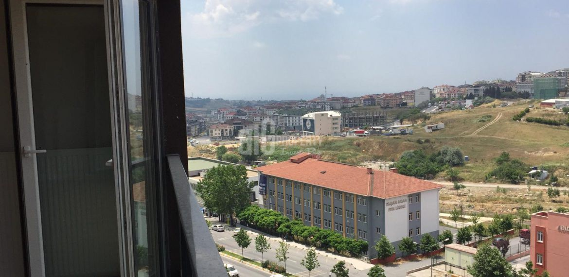 view of vira istanbul for sale 3+1 with cheap price