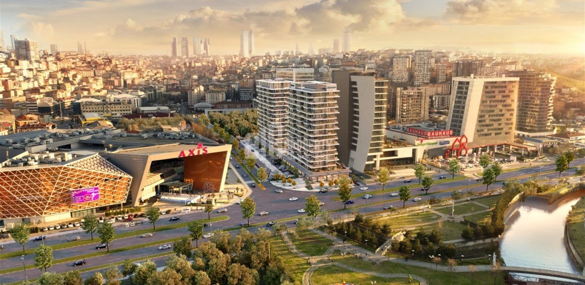 1-Best Locations investment properties for sale up to metro İstanbul Kagithane