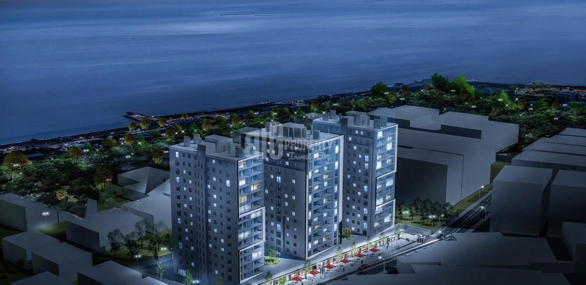 Lakefront properties for sale with full canal istanbul view İstanbul Kucukcekmece