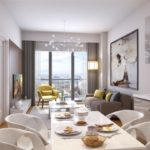 Best Locations investment flat for sale up to metro İstanbul Kagithane