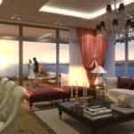 Big Terrace home with sea view for sale Buyukcekmece İstanbul Turkey