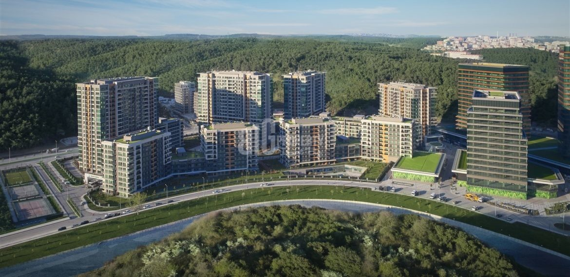 Biggest City center homes for sale Maslak İstabul