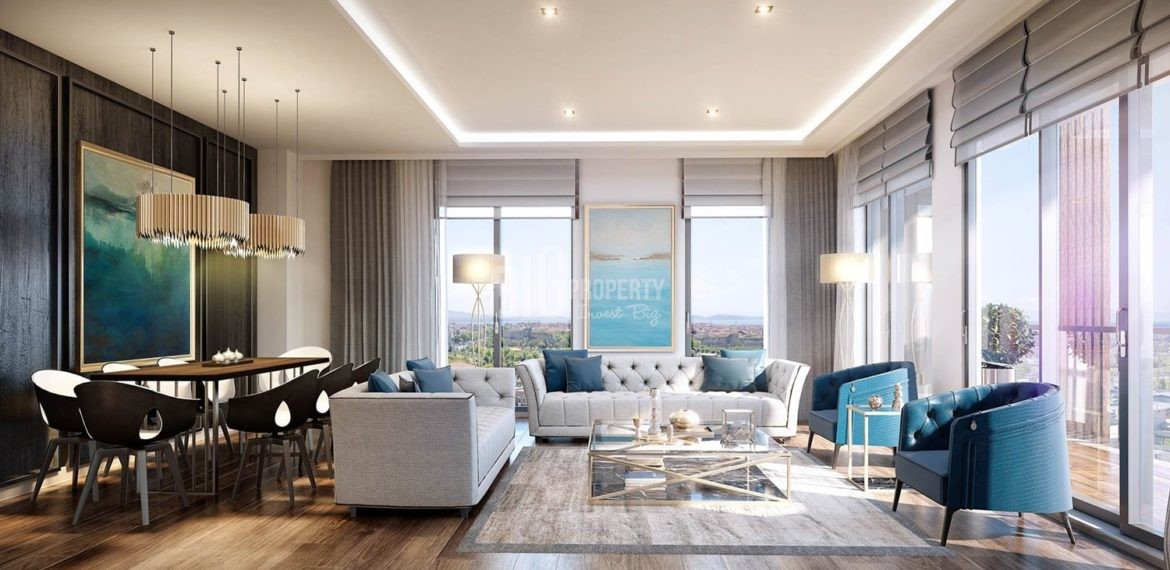 Central flats in Istanbul has affordable price