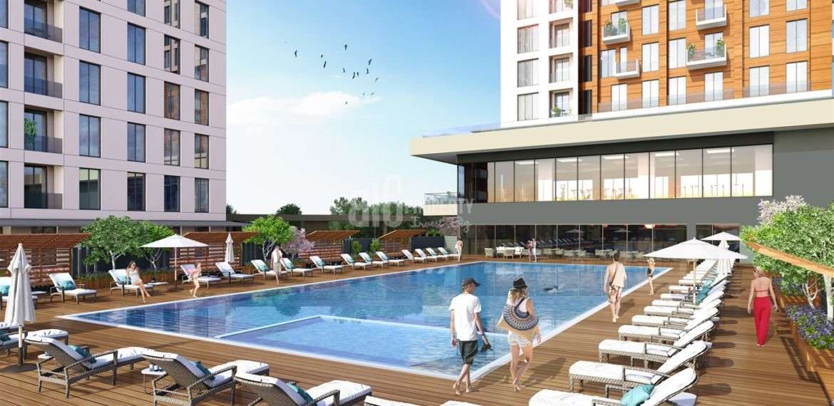 Comfortable real estate with family Lifestyle for sale Esenyurt İstanbul Turkey