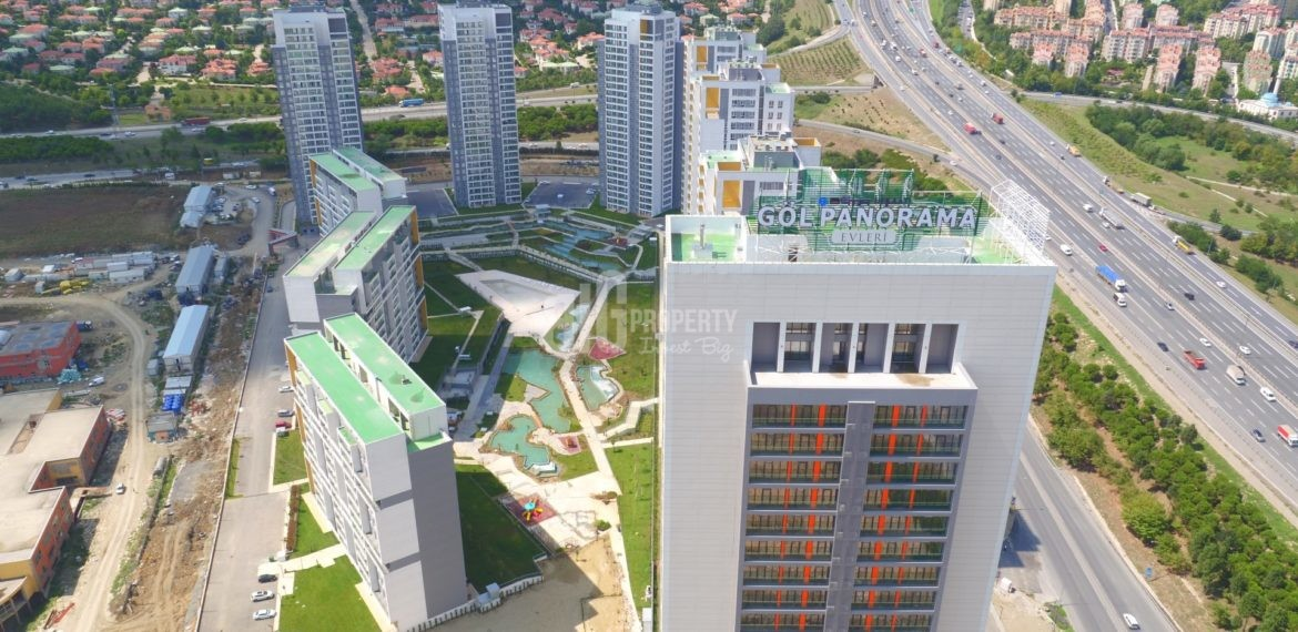 Horizantal lake view canal istanbul real estate with best price quarantee turkey İstanbul Kucukcekmece